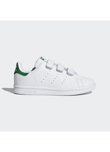 adidas Adidas Çocuk Ayakkabı M20607 Stan Smith Cf C Beyaz